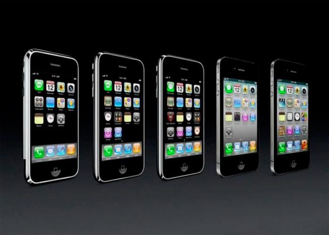 Evolución iPHone