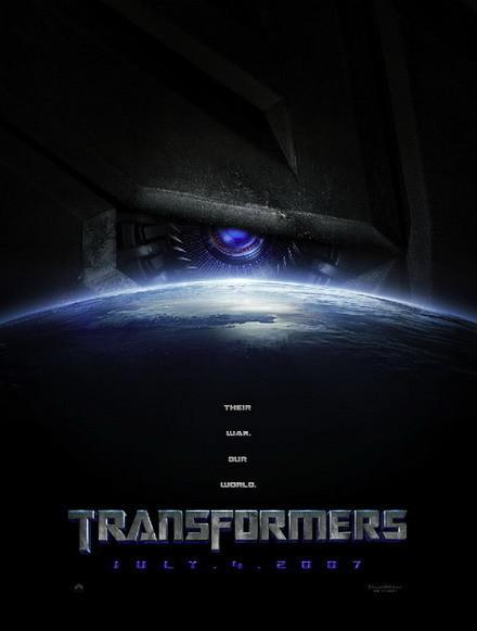 Primer póster de 'Transformers'