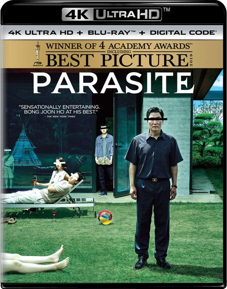 PArasites, mejor película en Blu-ray 4K