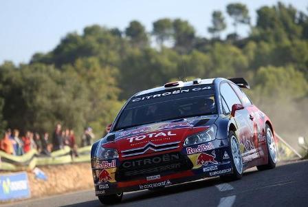 Sébastien Loeb gana todas las etapas en un dominante inicio en el Catalunya