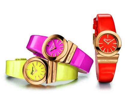 La línea Gancino Soirée de Salvatore Ferragamo Timepieces