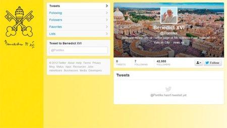 El Papa llega a Twitter, ¡bienvenido @Pontifex!