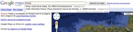 Google maps incorpora sugerencias personalizadas