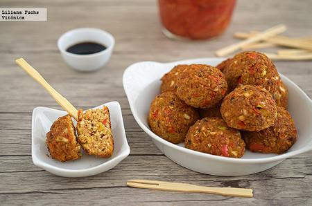 Albondigas Vegetarianas De Tofu
