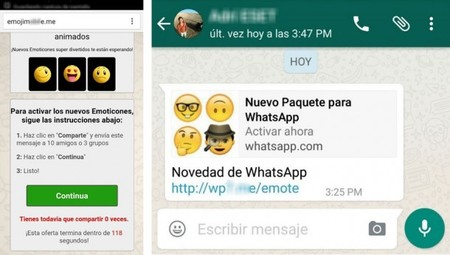 Estafa Emojis Whatsapp 2016 610x345