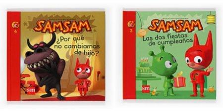 """Colección de libros: las aventuras de """"SamSam"""""""