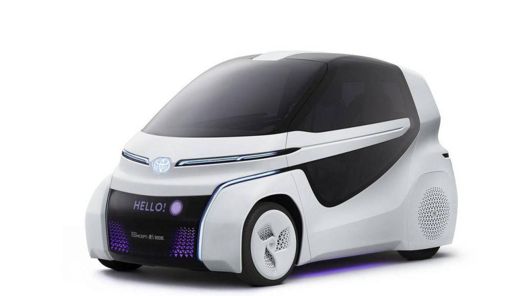 Toyota Concept-i Ride: movilidad urbana con Inteligencia Artificial