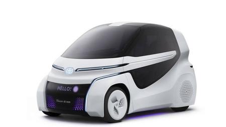 Toyota Concept-i Ride es la nueva propuesta de movilidad urbana  con Inteligencia Artificial