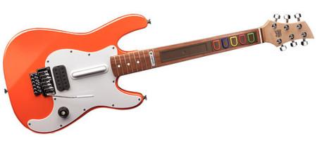 Guitarra inalámbrica para Guitar Hero de Logitech