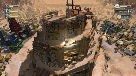 'Babel Rising', el simulador de Dios con mala leche, llega a 'Trials Evolution' en forma de pista
