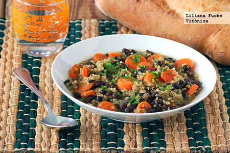 Sopa Quinoa