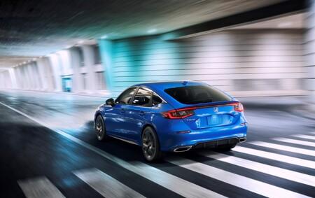 El Honda Civic Hatchback 2022 estrena generación, con silueta de fastback para relevar al coupé