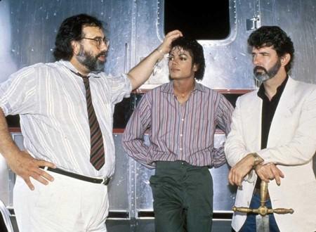 Francis Ford Coppola, Michael Jackson y George Lucas