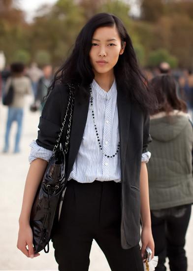 Foto de Liu Wen, una modelo china haciendo historia (4/20)