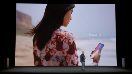 Face ID en el iPhone X