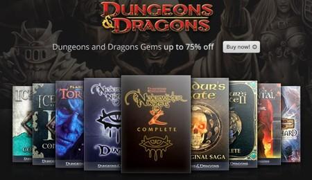 'Dungeons & Dragons' a tope con GOG en una promo con muchas joyas