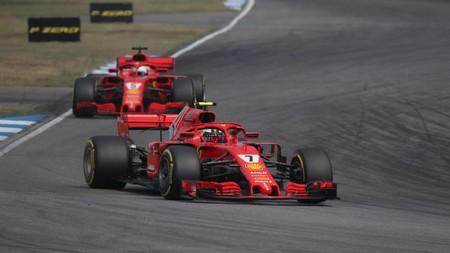 Raikkonen Vettel F1 Ferrari