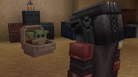 Baby Yoda y los personajes y escenarios de Star Wars llegan a Minecraft con un DLC que te hará viajar a una galaxia muy lejana