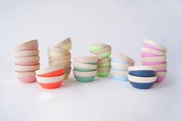 Coloridos cuencos para llenar tu cocina de alegría