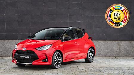 El Toyota Yaris es el Coche del Año en Europa 2021: el utilitario híbrido gana al CUPRA Formentor y al Volkswagen ID.3