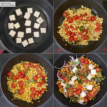 Maiz Salteado Tomate Pasos