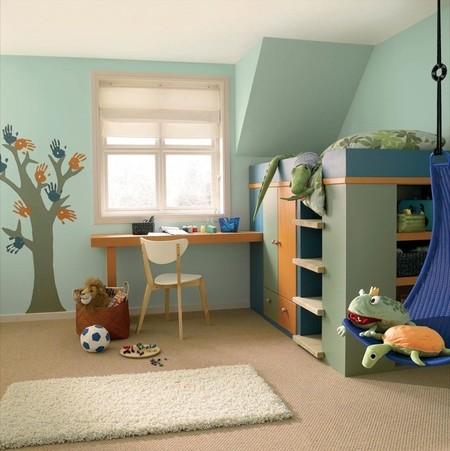 Cómo decorar y ambientar la habitación de los peques según la luz y el tamaño que tengan