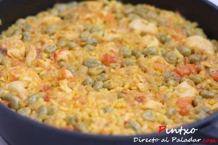 Cómo hacer arroz al horno. Arroces secos