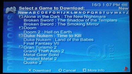 ¿Emulador de PSOne para la PSP?
