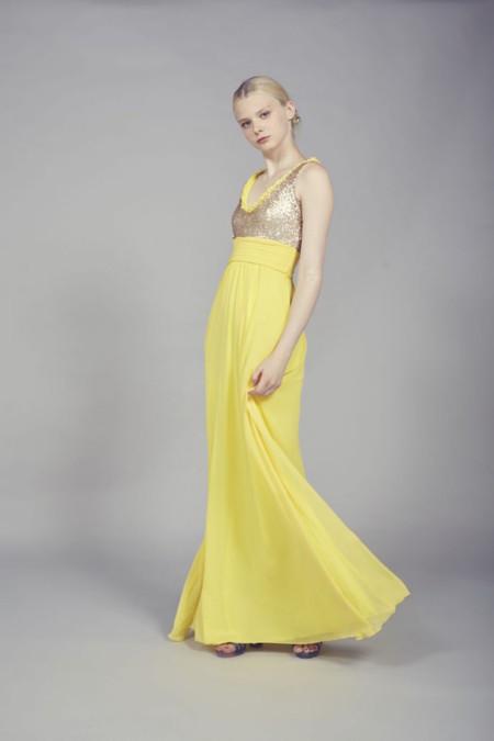Vestido Amarillo Maxi Coosy