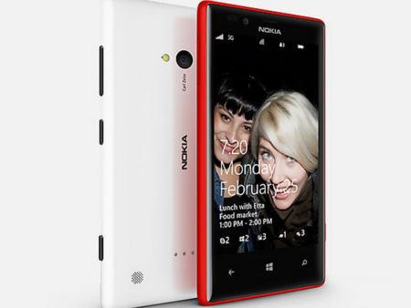 Diseño del Nokia Lumia 720