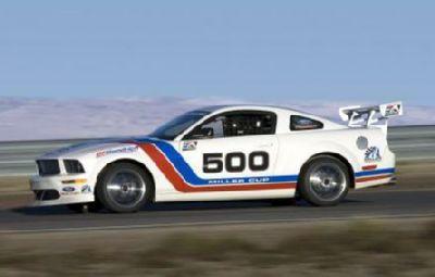 Mustang FR500S. Un Mustang de carreras