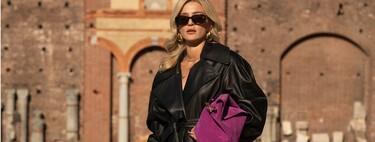 Las chicas de moda ya se han puesto moradas: así combinan ellas el color joya en todas sus versiones
