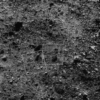 Contempla estos primeros planos de rocas en la superficie del asteroide Bennu