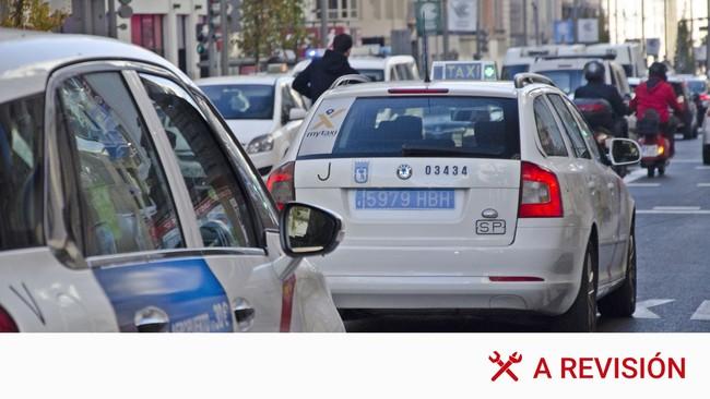 Las nuevas matrículas azules para taxis y VTC, en detalle