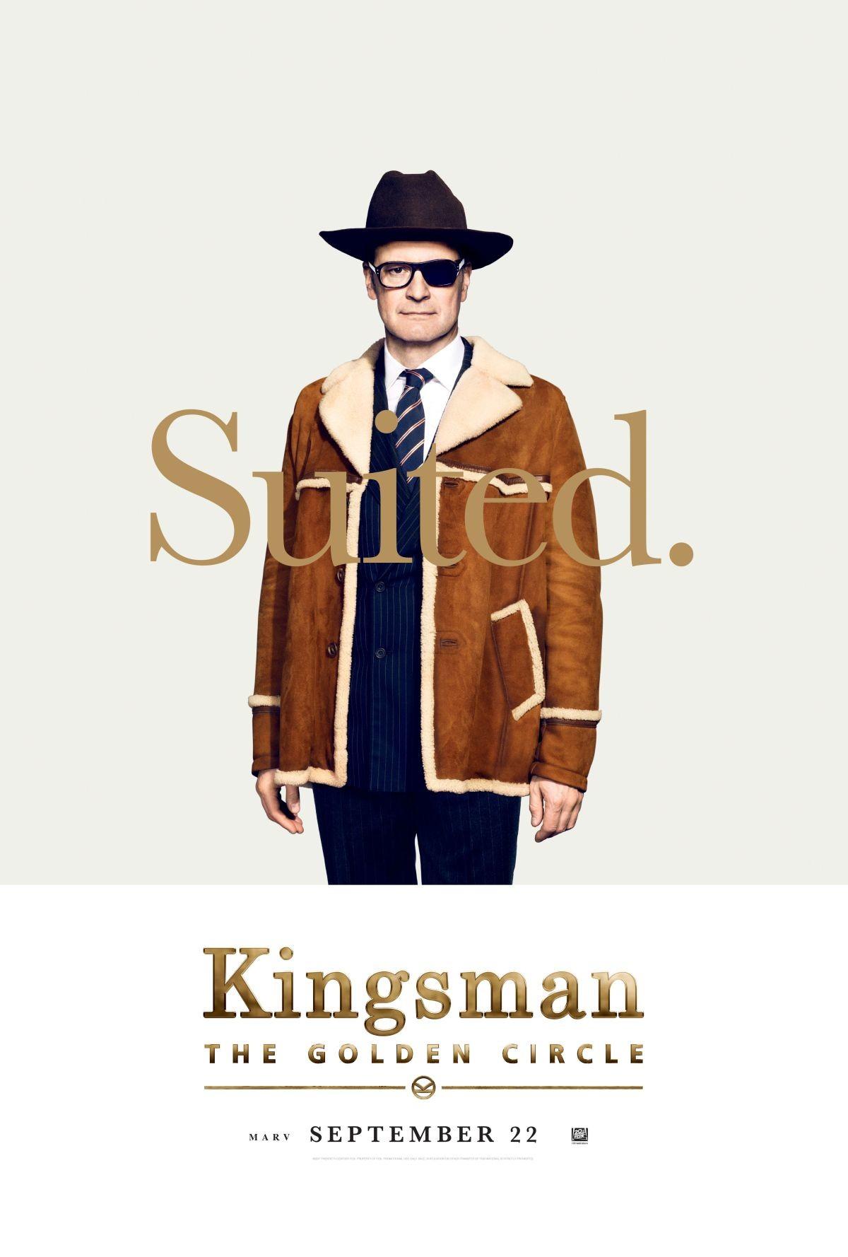 Foto de Carteles de los protagonistas de 'Kingsman: El círculo de oro' (3/8)