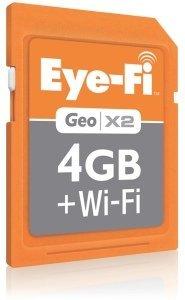 Geo X2 de EyeFi se encarga de colocar en el mapa tus fotos