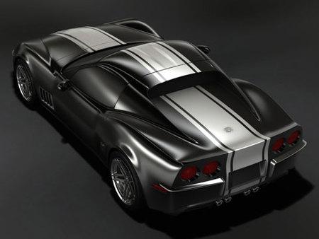 Chevrolet Corvette C3R, más imágenes y novedades en el diseño