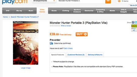 """Play.com filtra """"accidentalmente"""" varios títulos para PS Vita (actualizado)"""