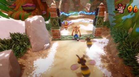 Vidas infinitas Crash Bandicoot