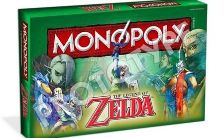 ¿Quieres todas mis rupias? Tendrás que cobrarme alquiler en este Monopoly temático de Zelda