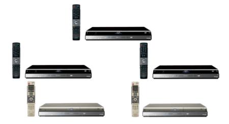 Grabadores de disco duro con hasta 1 TB de capacidad