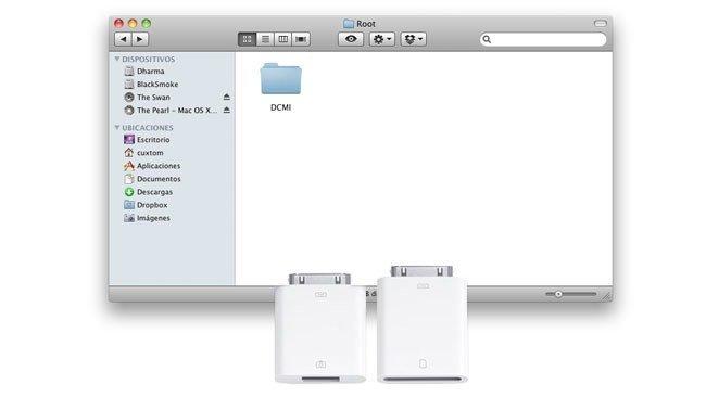 Pasar fotos y vídeos al iPad rápidamente con Camera Connection Kit