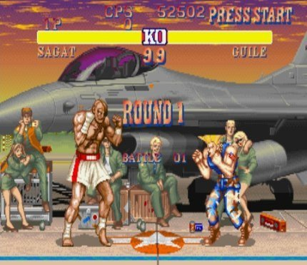 Street Fighter II' Hyper Fighting partiendo la pana en XBox Live Arcade
