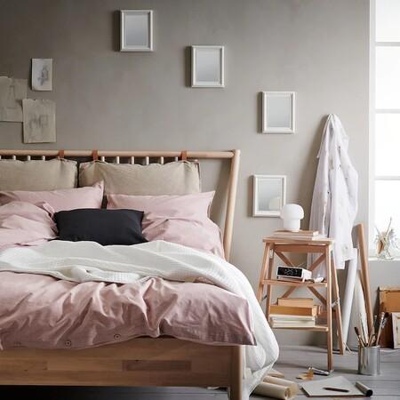 Once fundas nórdicas naturales y sostenibles de Ikea para cama de matrimonio