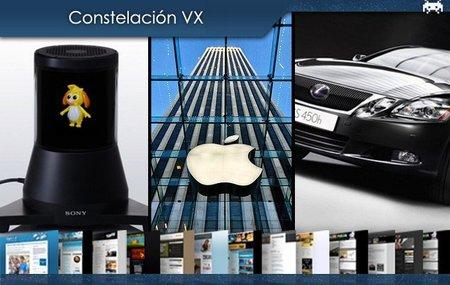 Pantalla de 360 grados de Sony, la antena del iPhone 4 y el precio de los híbridos premium. Constelación VX (XV)