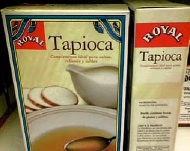 La tapioca