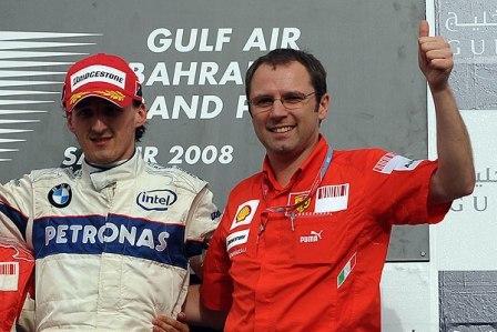 Robert Kubica renueva con BMW en 2009, ¿y a Ferrari en 2010?