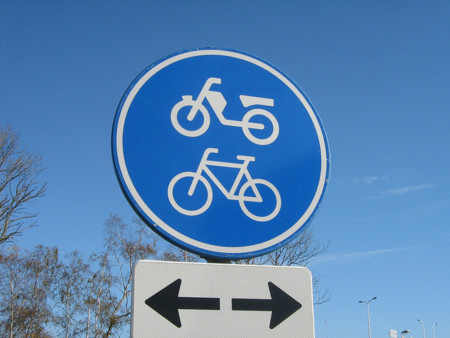 Señal ciclismo