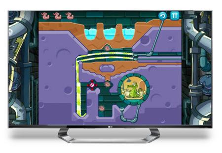 LG Smart TV con juegos