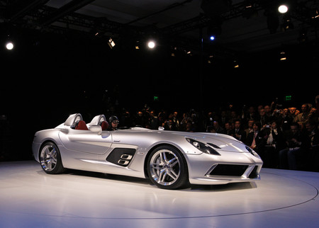 Mercedes SLR Stirling Moss lateral frontal